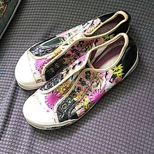 Ed Hardy by Christian Audigier slip on shoes